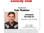Tom Thakkar - Muskegon - July 18th