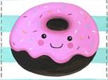 """Canvas & Cones """"Delicious Donut"""""""