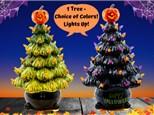 Halloween Light Up Tree - October 2nd