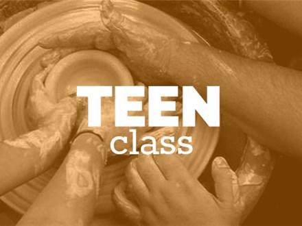 Teen Sunday 4-6pm, (JAN 6th - FEB 24th) 2019, TEEN/TWEEN WHEEL THROWING CLASS