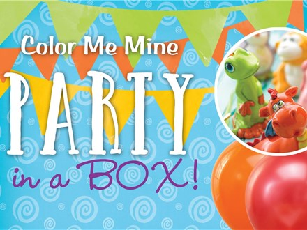 Party in a Box To-Go Kit RENTAL