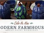 Adult Workshop - Modern Farmhouse Pumpkin - Friday, September 20th 5-9PM