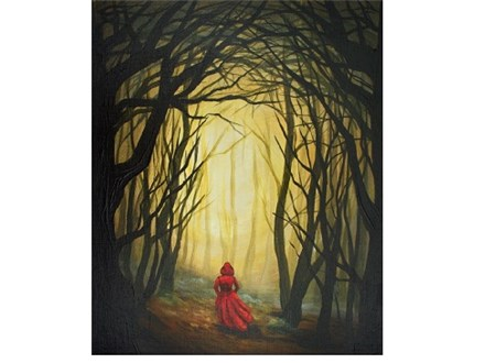 Red Forest - Canvas - Paint and Sip