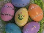 Kid's Pottery Painting - Easter Eggs - Morning Session - 04.05.17