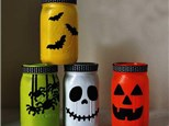 Glass Painting - Halloween Jars - 10.13.19
