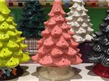 Your Grandma's Ceramic Christmas Tree Party