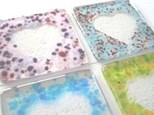 Fused Glass Coasters workshop (set of 2)- Saturday Feb 8 @ 9am