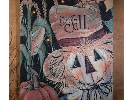 Scarecrow Paint Night 8/22/17 @ 6PM