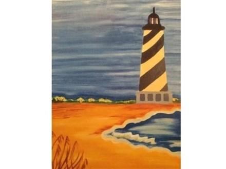Canvas & Wine Night!  Water's Edge!  7/11/16