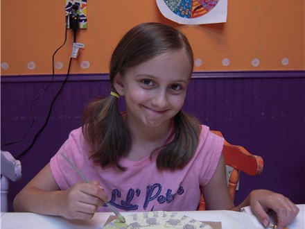 Kids' Summer Art Camp at THAT POTTERY PLACE