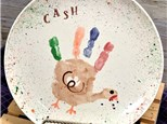 Art Club: Turkey Handprint Plates