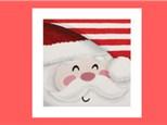 Kids Canvas - Santa's Smile - Friday, December 21