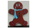 Gingerbread Boy Door Hanger - Paint & Sip - Dec 12