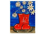 Rain Boots Family Day Paint Class