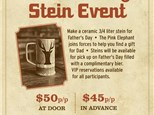 Father's day stein event