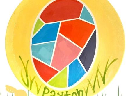 Kids Art Club Geometric Egg Canvas