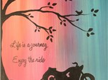"LOH- ""Enjoy the Ride"" Canvas painting Fundraisng Event"