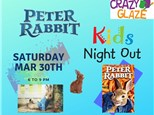 Ticket for Crazy Glaze Studio's Kids Night Out March 30th
