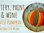 Harvest Pumpkin Platter 10/17 @The Pottery Patch