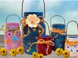 You Pick Farmhouse Mason Jars for Adults - April 9th