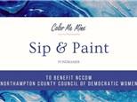 Sip & Paint Fundraiser - July 11