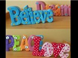Word Plaques and Large Banks Party Package