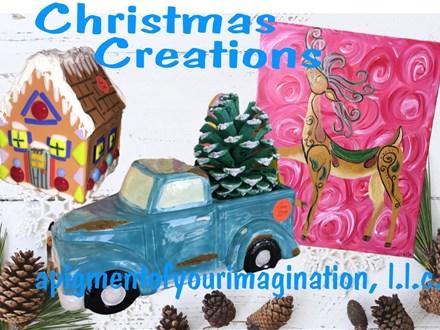 Summer Art Camp, June 18-19-20, Christmas Creations