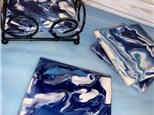 Glaze Pour Coaster Set Class