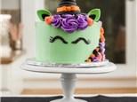 Parent/Child Halloween Unicorn Cake