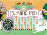 Egg Painting Party! Sunday, April 5th @ 1:00pm