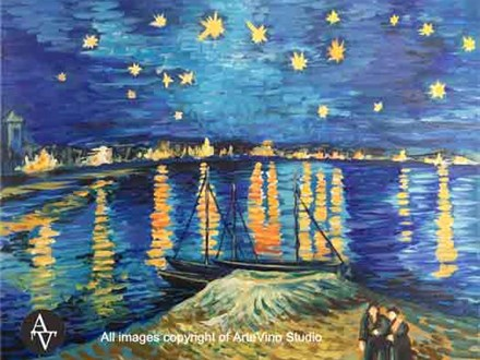 Copy - starry night - van gogh