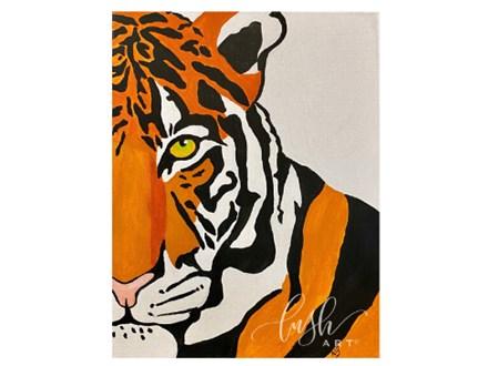 Tiger Paint Class
