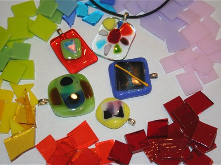 Intro to Glass Fusing - Pendants