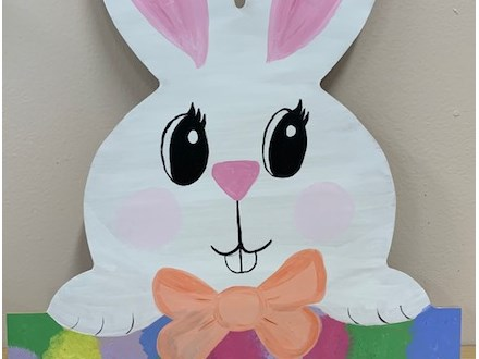 Easter Bunny Wood Painting Class