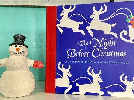 Pre-School Storytime Tis The Night Before Christmas