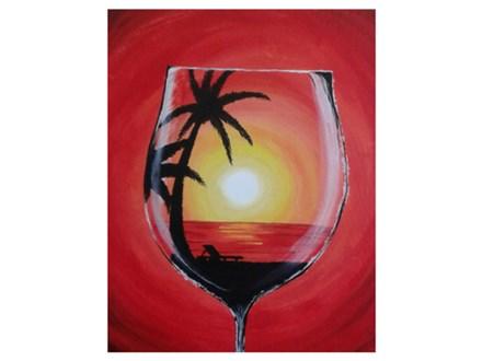 Through a Wine Glass - Paint & Sip - Sept 15