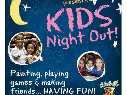 Kids Night Out: Super Heroes - June 15, 2018  6-8pm