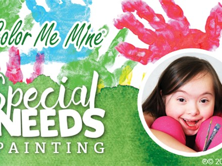Special Needs Painting: April 8, 2018 @ 11am