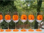 Wine Glass Painting at SIPS