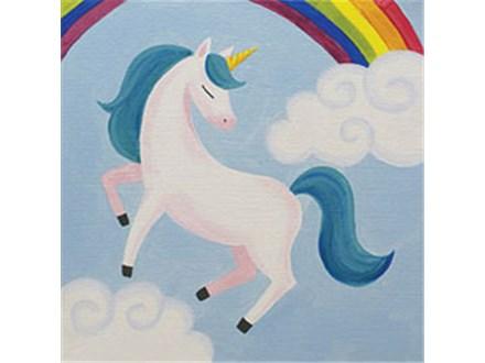 """Canvas & Cones """"Unicorn Magic"""""""