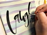 Adult Class: Brush Lettering - February 1 @ 6pm