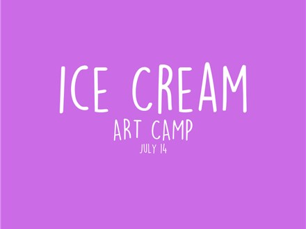 Ice Cream Art Camp