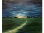 Night Path - 16x20