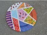 Summer Camp Wednesday, August 15th Sectioned Platter with Patterns