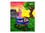 """Llama Pinata"" Paint Night, April 13th"