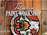 Talavera Pottery Painting - Workshop - May 15th 2019