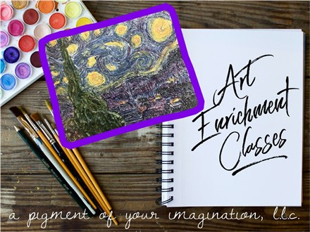 After School Art Enrichment Classes November