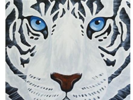 Canvas & Wine Night!  White Tiger! 3/2/17