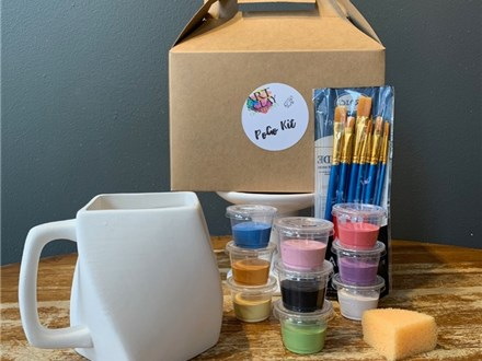 PoGo Kits: Paint Your Own Pottery ToGo! (Hurricane Mug(s))