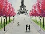 """Paint & Sip """"Paris"""""""